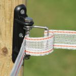 Corner insulator for tape,