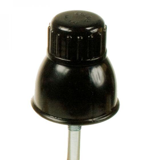 Insul. with black screw cap