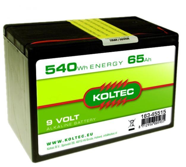 Battery 9 Volt - 540 Wh 65 Ah