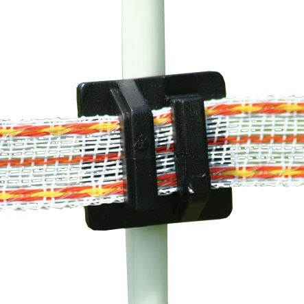 Click ins. black, wire/tape