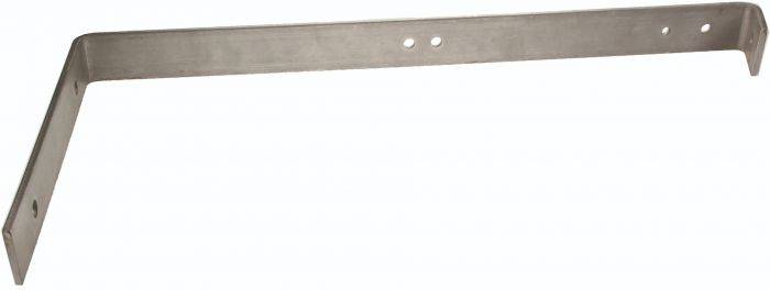 End bracket 90˚ INOX 40 cm