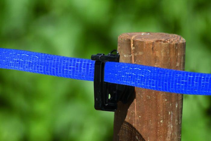 Tape, blue 20 mm, 4*0,2INOX+