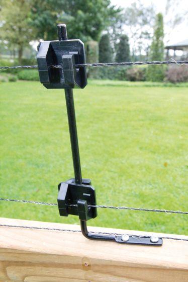 Insulator bracket, right-angle