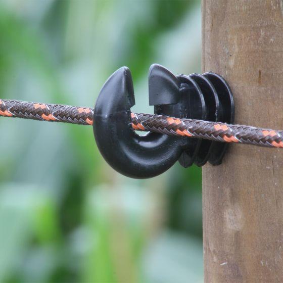 Rope braided, brown