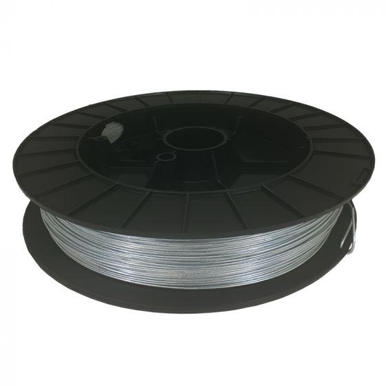 Wire, galvanized, ± 400 m