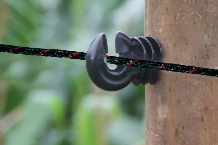 Rope 6mm braided black, 500 m